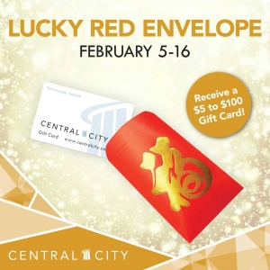 Lucky Red Envelope Gift With Purchase Promotion