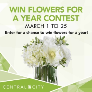 Win Flowers for a Year Contest