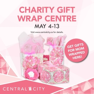 Mother's Day Charity Gift Wrap Centre