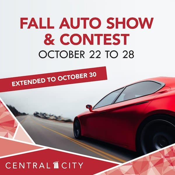 Fall Auto Show & Contest at Central City in Surrey, BC