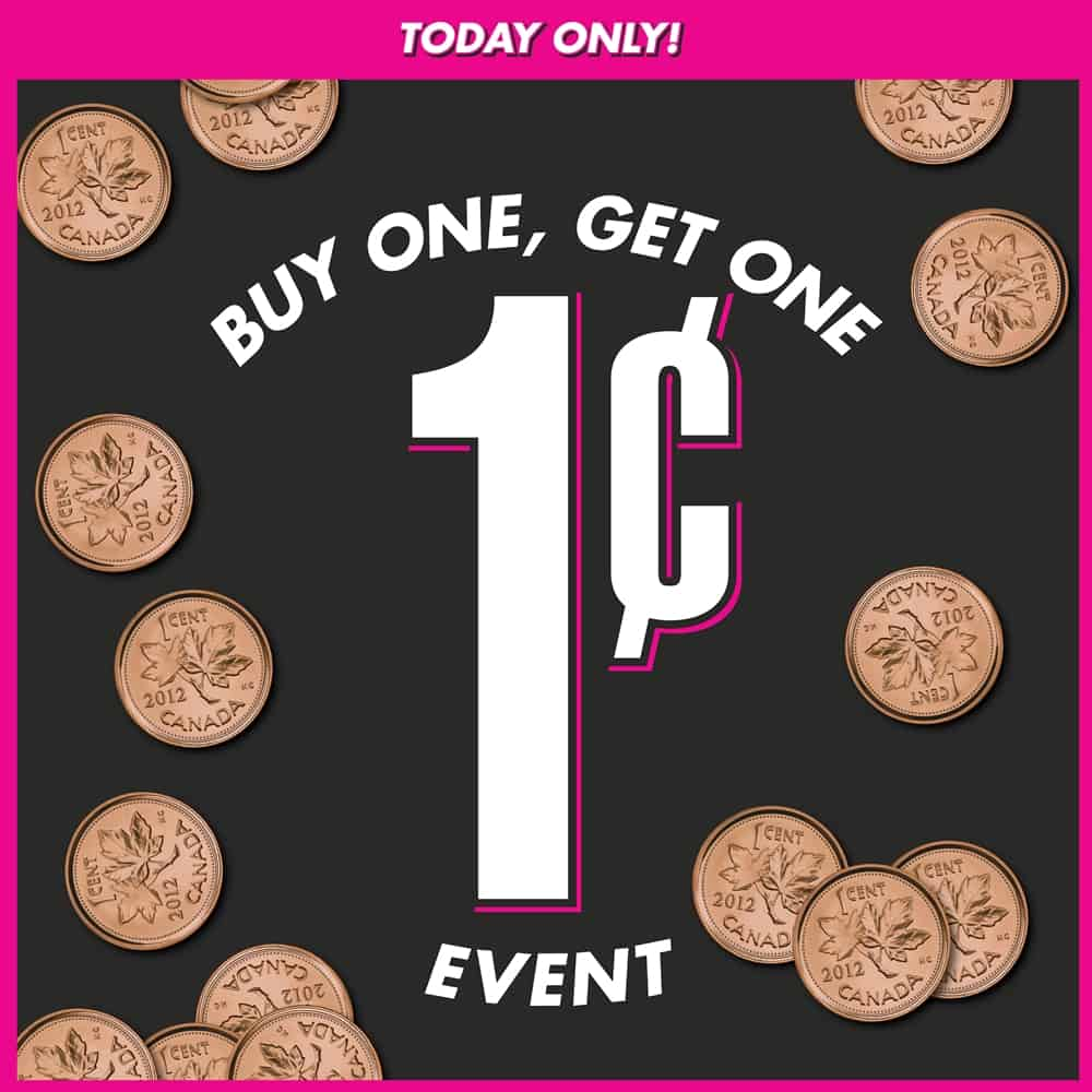 Urban Planet BOGO One Cent Event at Central City in Surrey, BC
