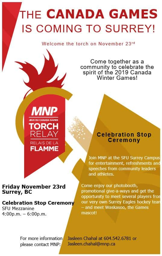 Canada Winter Games at Central City in Surrey, BC