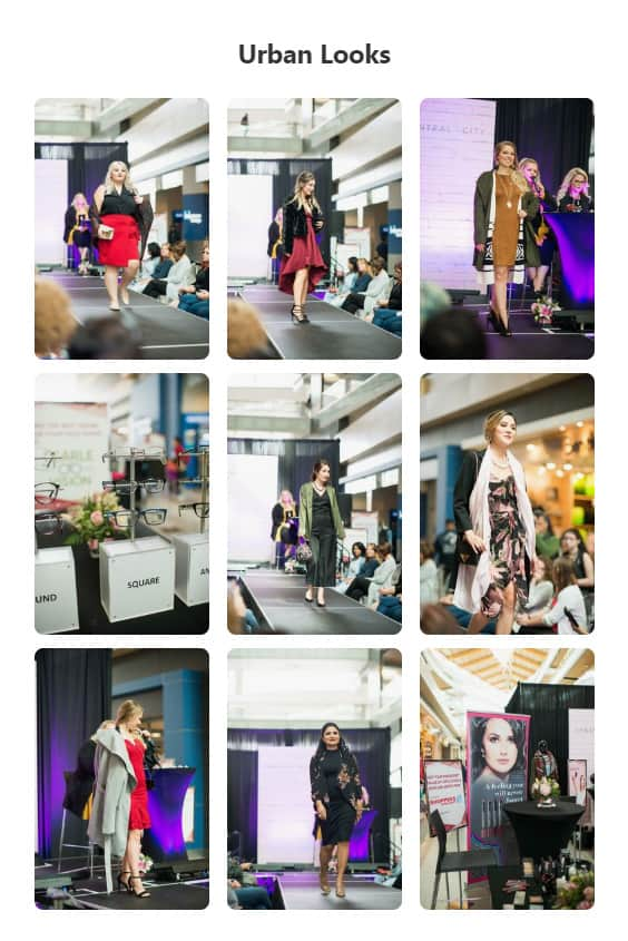 Pinterest Urban Looks Fashion Show Hosted by I Like Her Style Vancouver at Central City in Surrey, BC