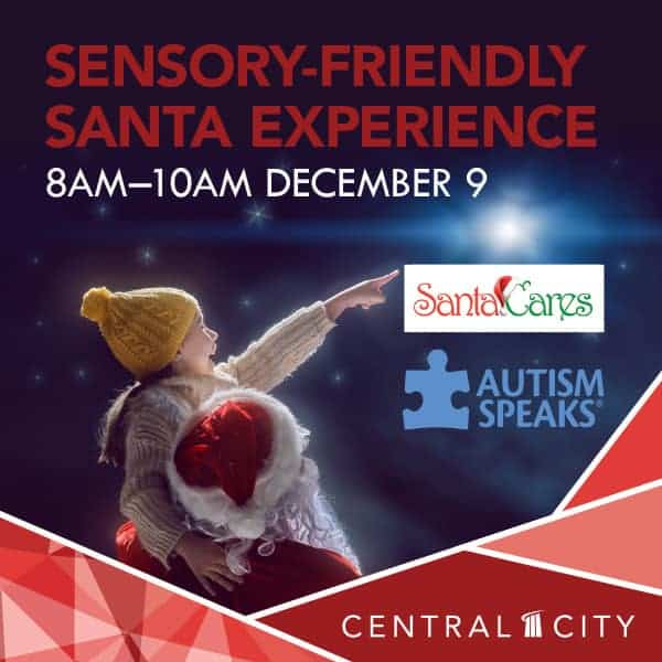 Santa Cares Sensory-Friendly Santa Experience, Central City, Surrey