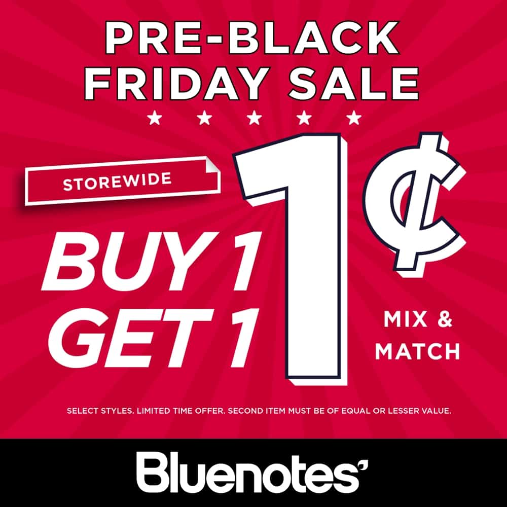 Pre-Black Friday Sale at Bluenotes at Central City in Surrey, BC