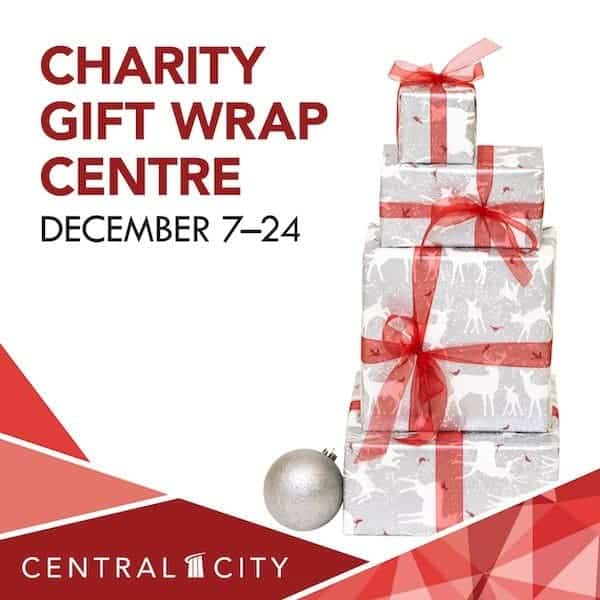 Charity Gift Wrap Centre, Central City, Surrey