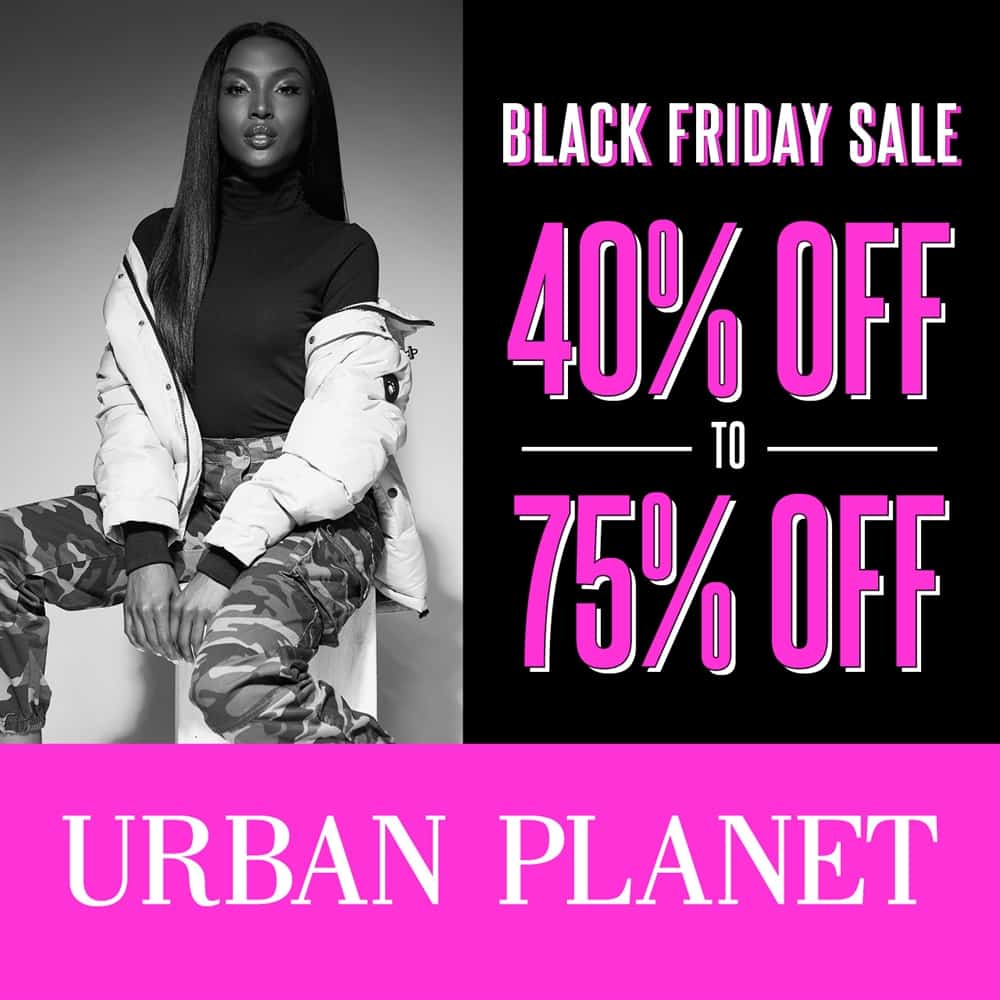 Urban Planet Black Friday Sale at Central City in Surrey, BC