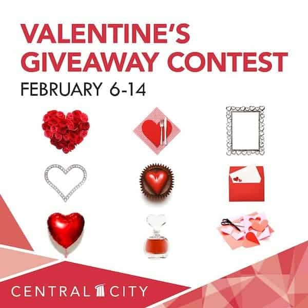 Valentine's Giveaway Contest, Central City, Surrey, BC