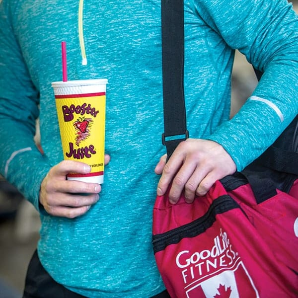 Booster Juice Goodlife Fitness Deal at Central City in Surrey, BC