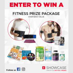 Enter to win a Showcase Fitness Prize Pack